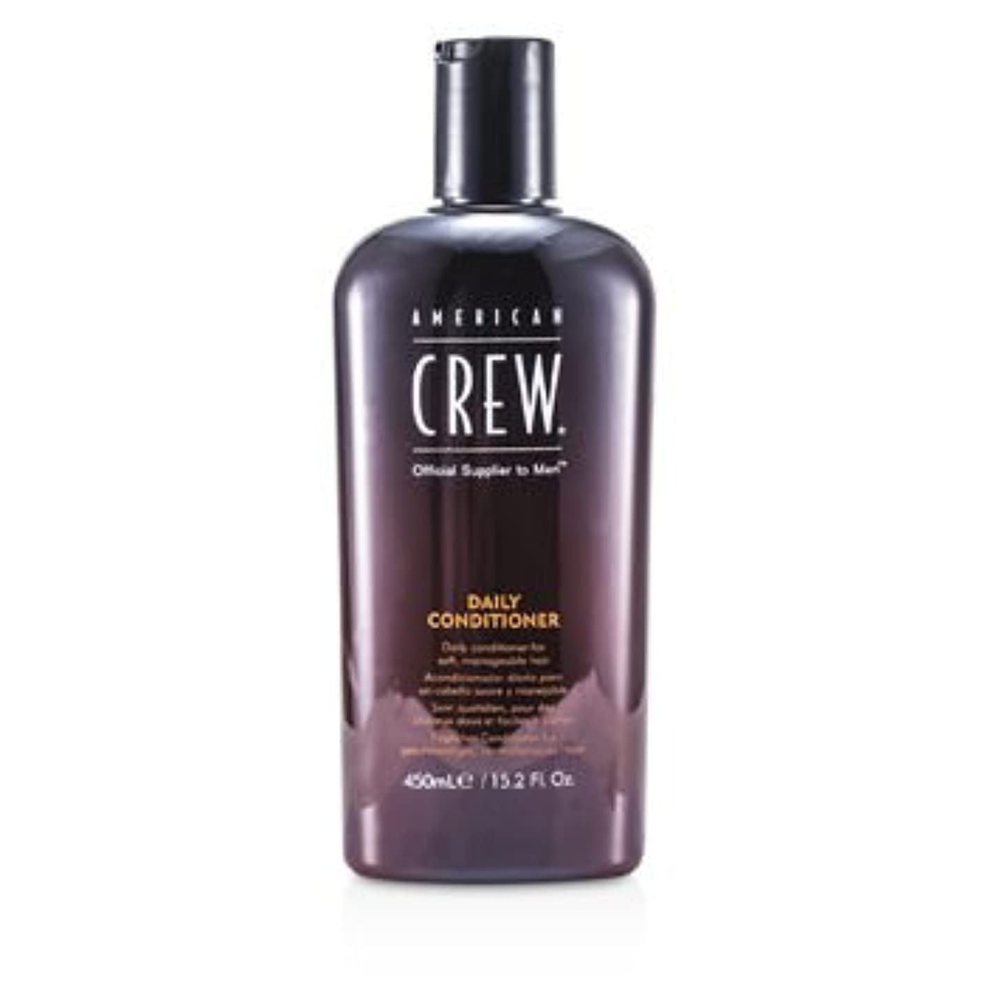 変化慢性的老朽化した[American Crew] Men Daily Conditioner (For Soft Manageable Hair) 450ml/15.2oz