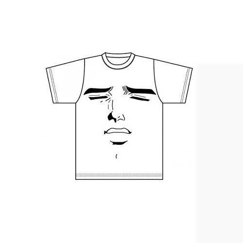 公式くそみそテクニックTシャツ 阿部さん恍惚 白 Lサイズ ABE004WHL