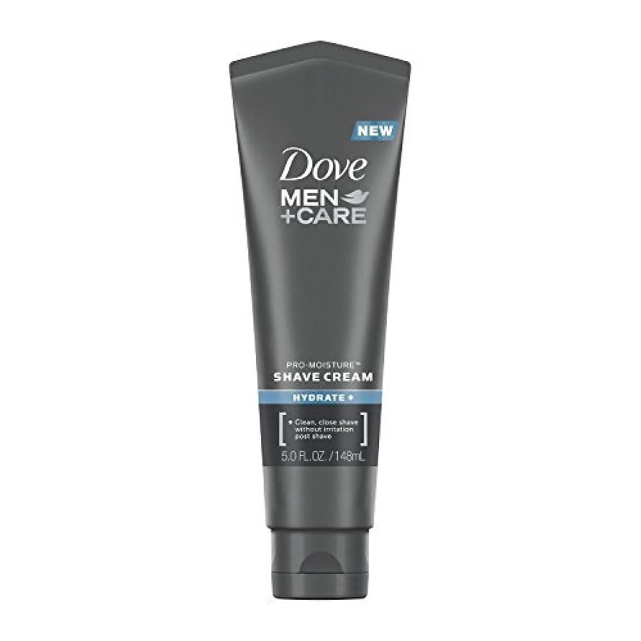 藤色マインドクルーズDove Men +Care Shave Cream Hydrate+ Pro Moisture - 5 oz [並行輸入品]