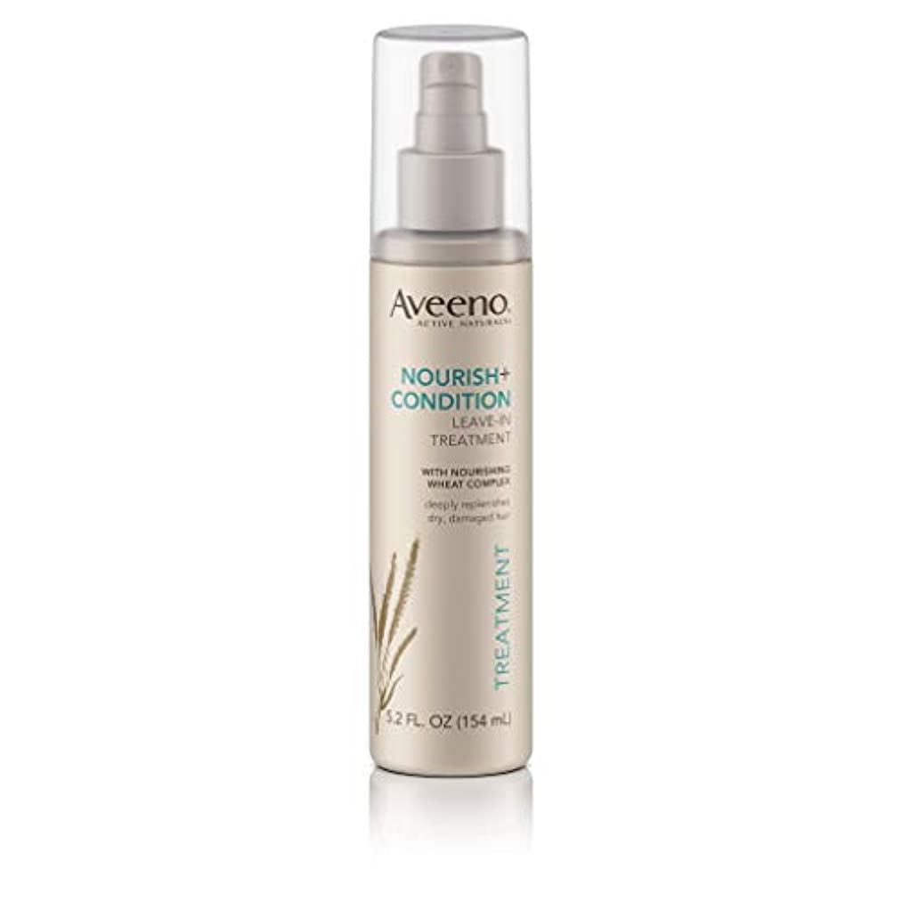 肉腫面積破壊Aveeno Nourish+ Condition Treatment Spray 150g (並行輸入品)