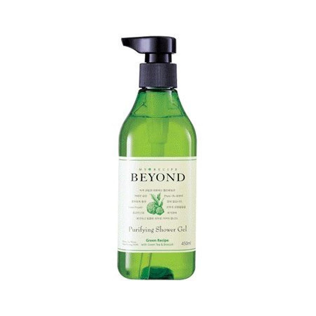 大破浸漬アッパーBeyond purifying Shower Gel (450ml)