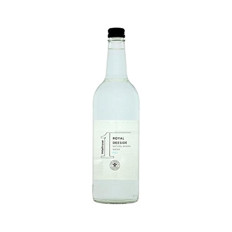 平方公爵国内のまだ王室のディーサイドの天然水を750ミリリットル (Waitrose) (x 6) - Royal Deeside Natural Still Water Waitrose 750ml (Pack of 6)