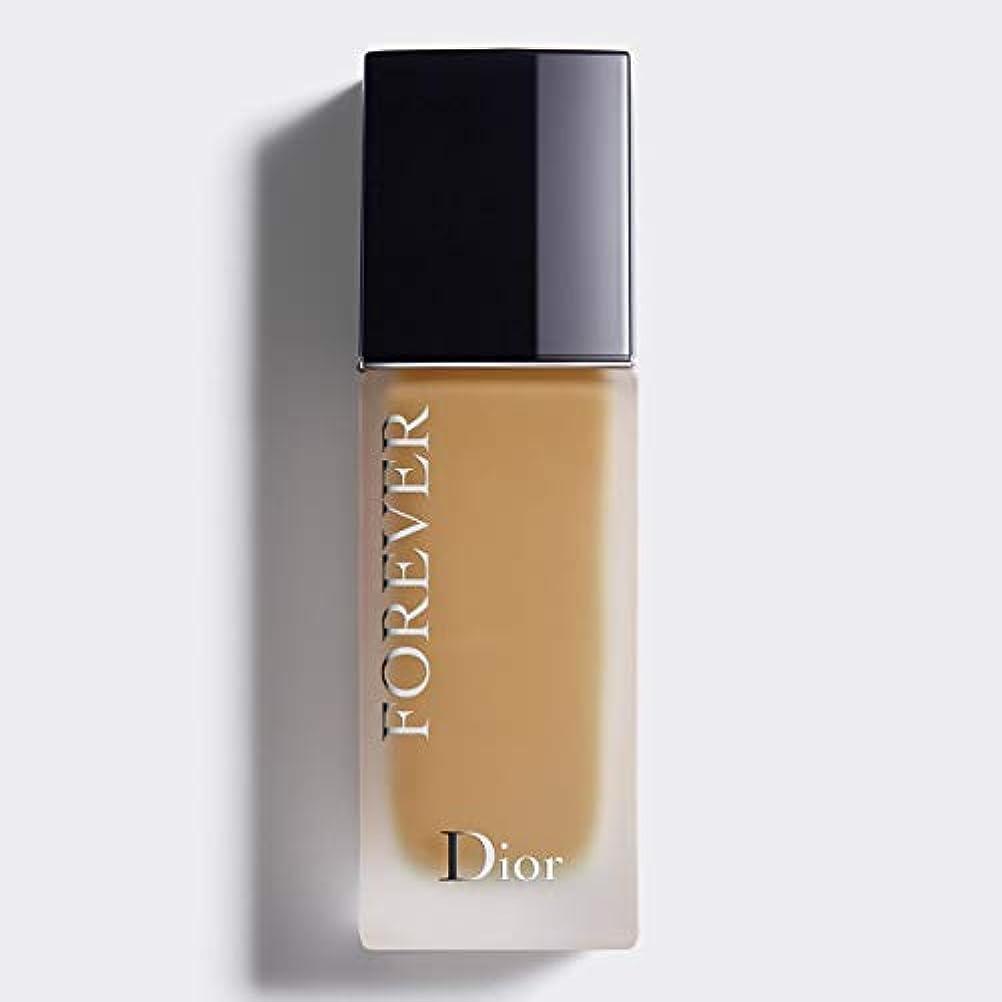 エスカレート聴覚拮抗するクリスチャンディオール Dior Forever 24H Wear High Perfection Foundation SPF 35 - # 4WO (Warm Olive) 30ml/1oz並行輸入品