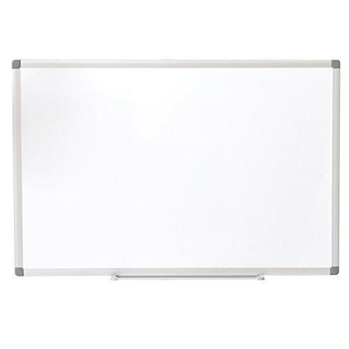 オフィスコム ホワイトボード 壁掛け 無地 900×600mm マーカー付き OC-WB9060W