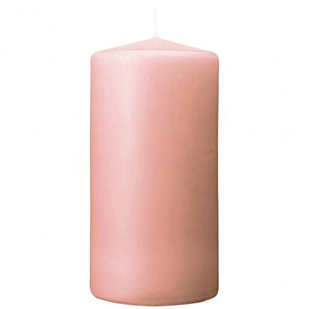 ロマンチックくるみ砂のkameyama candle(カメヤマキャンドル) 3×6ベルトップピラーキャンドル 「 ピーチアンバ 」(A9730010PA)