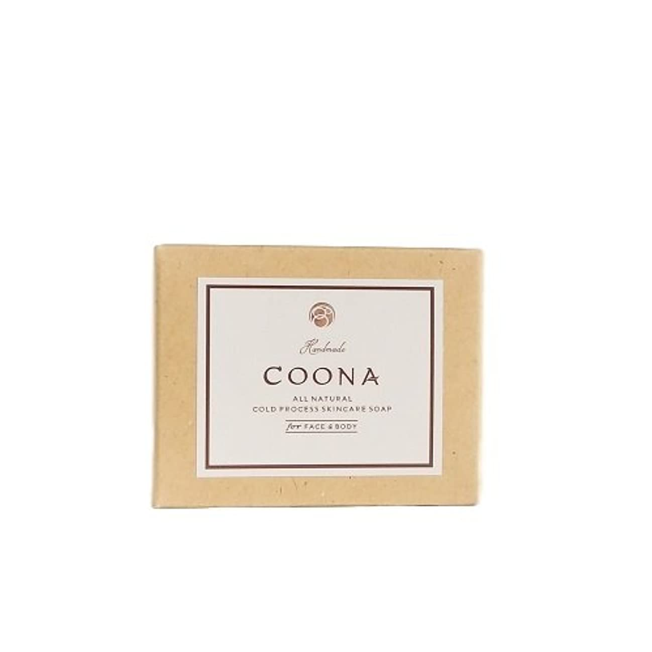 ブースボス効果的に洗顔石鹸 COONA アボカド 石けん イランイラン&ラベンダー (天然素材 自然派 コールドプロセス 手作りせっけん)
