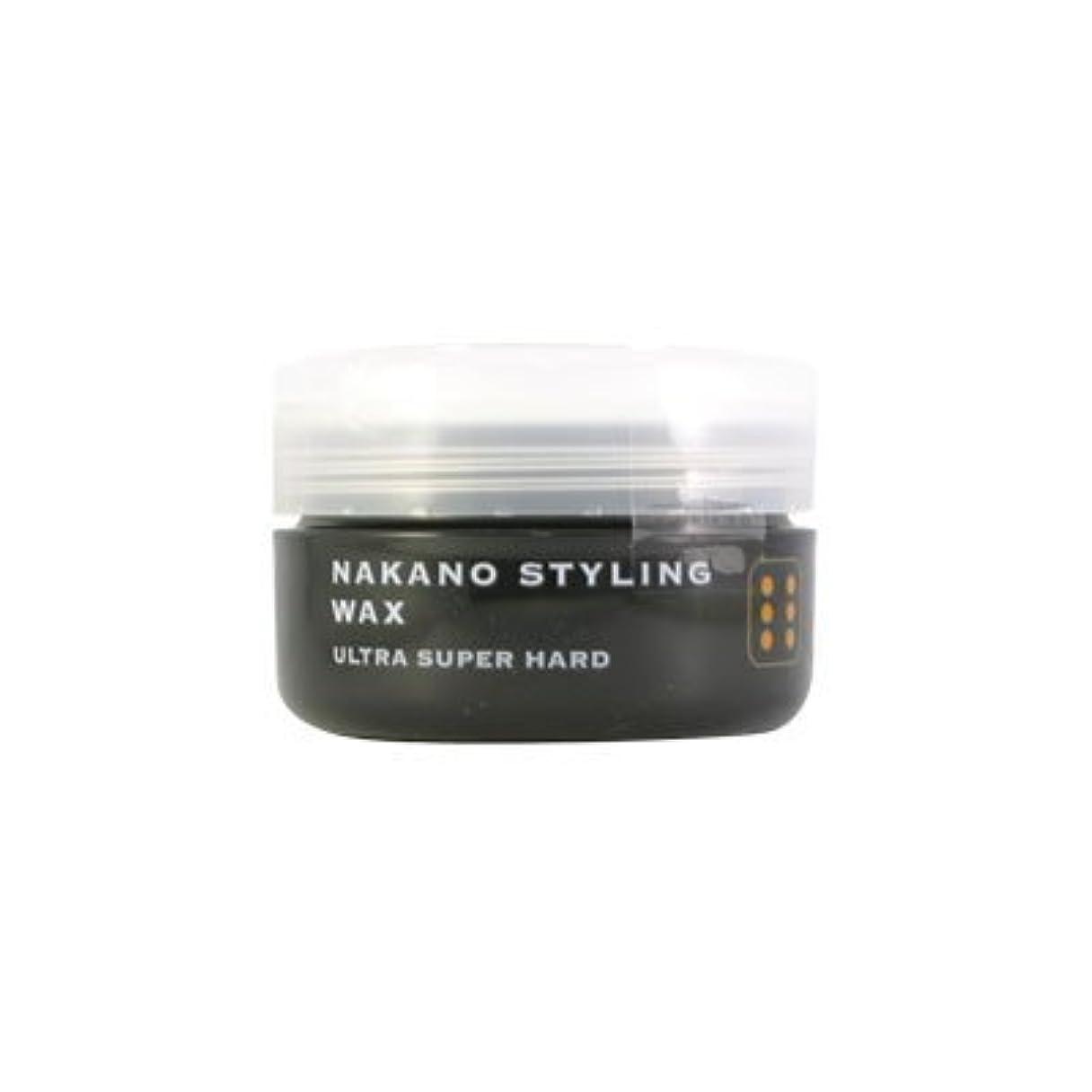 独立承認するハンディナカノ スタイリングワックス 6 ウルトラスーパーハード 90g 中野製薬 NAKANO