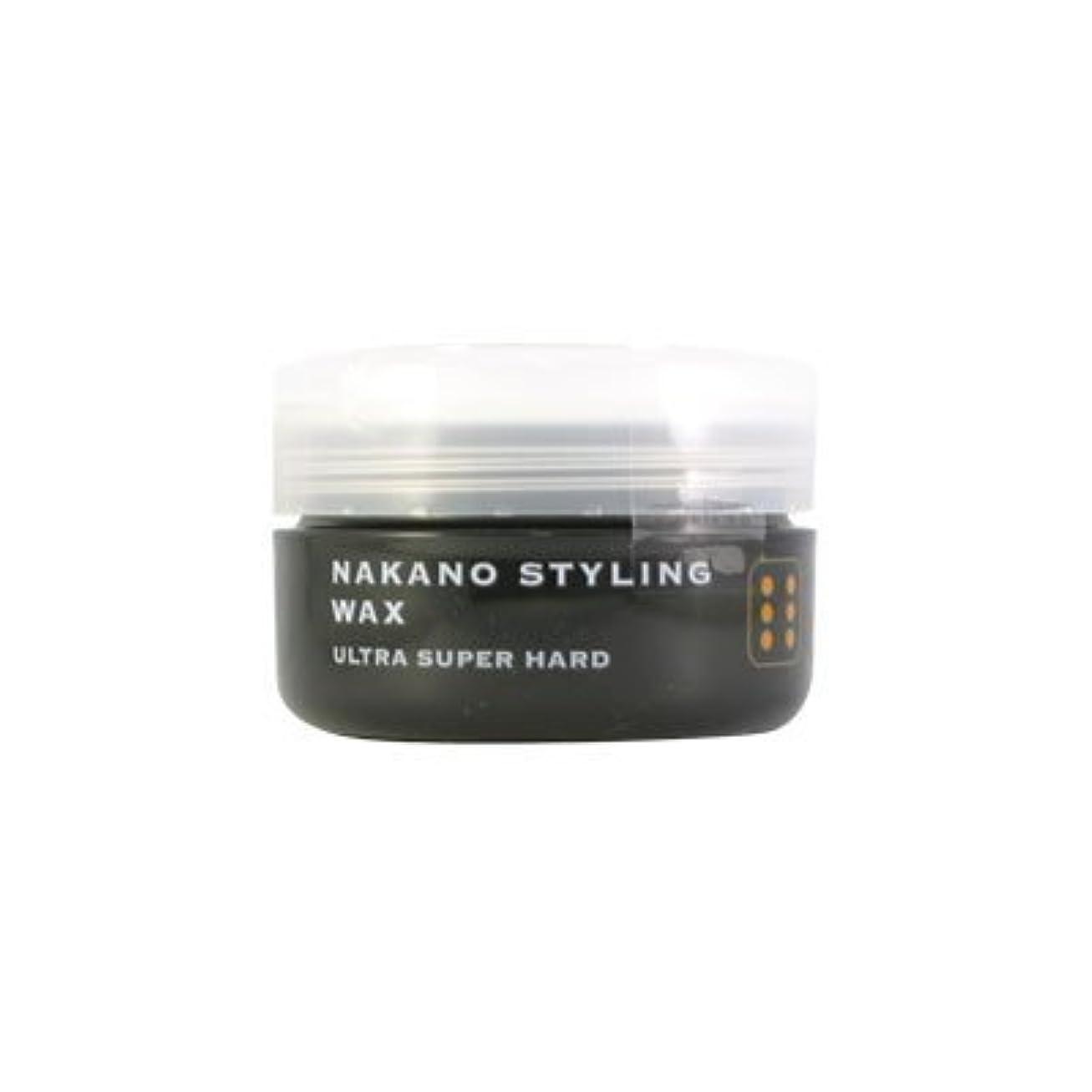 和申し立てる神秘ナカノ スタイリングワックス 6 ウルトラスーパーハード 90g 中野製薬 NAKANO