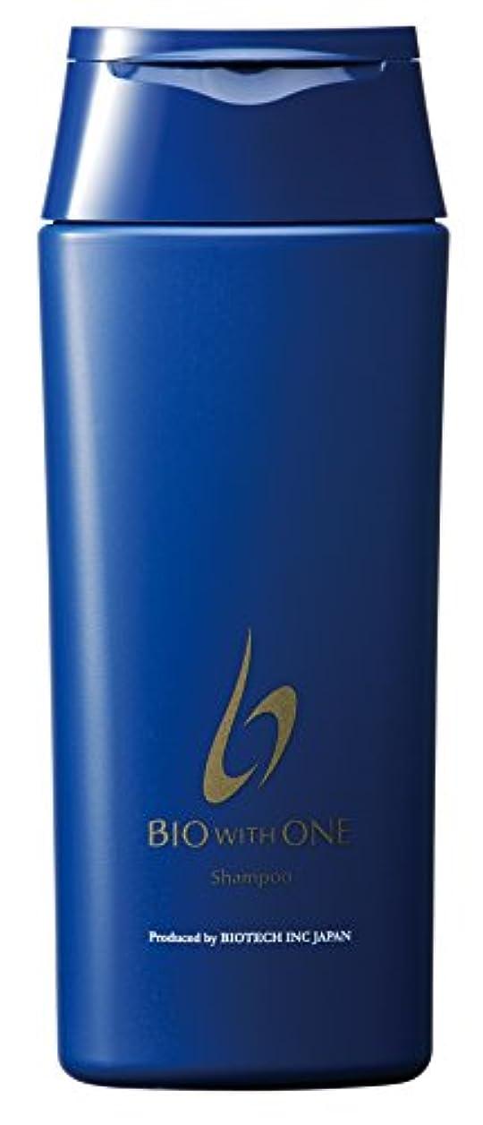 抽象トーナメント作者育毛専門サロン「バイオテック」の頭皮ケアスカルプシャンプー バイオウィズワン シャンプー 270mlボトル(約3ヶ月分)