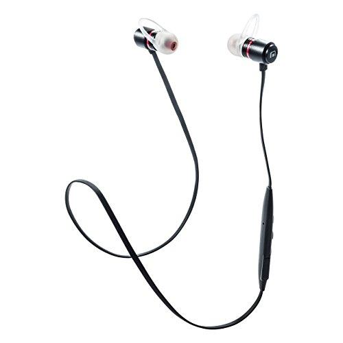 Bluetoothイヤホン 高音質 EQ機能搭載 マグネット取付 Bluetooth4.1  サンワダイレクト サンワサプライ MFB-E3300