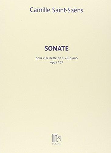 サン・サーンス: クラリネット・ソナタ Op.167 (Bb...