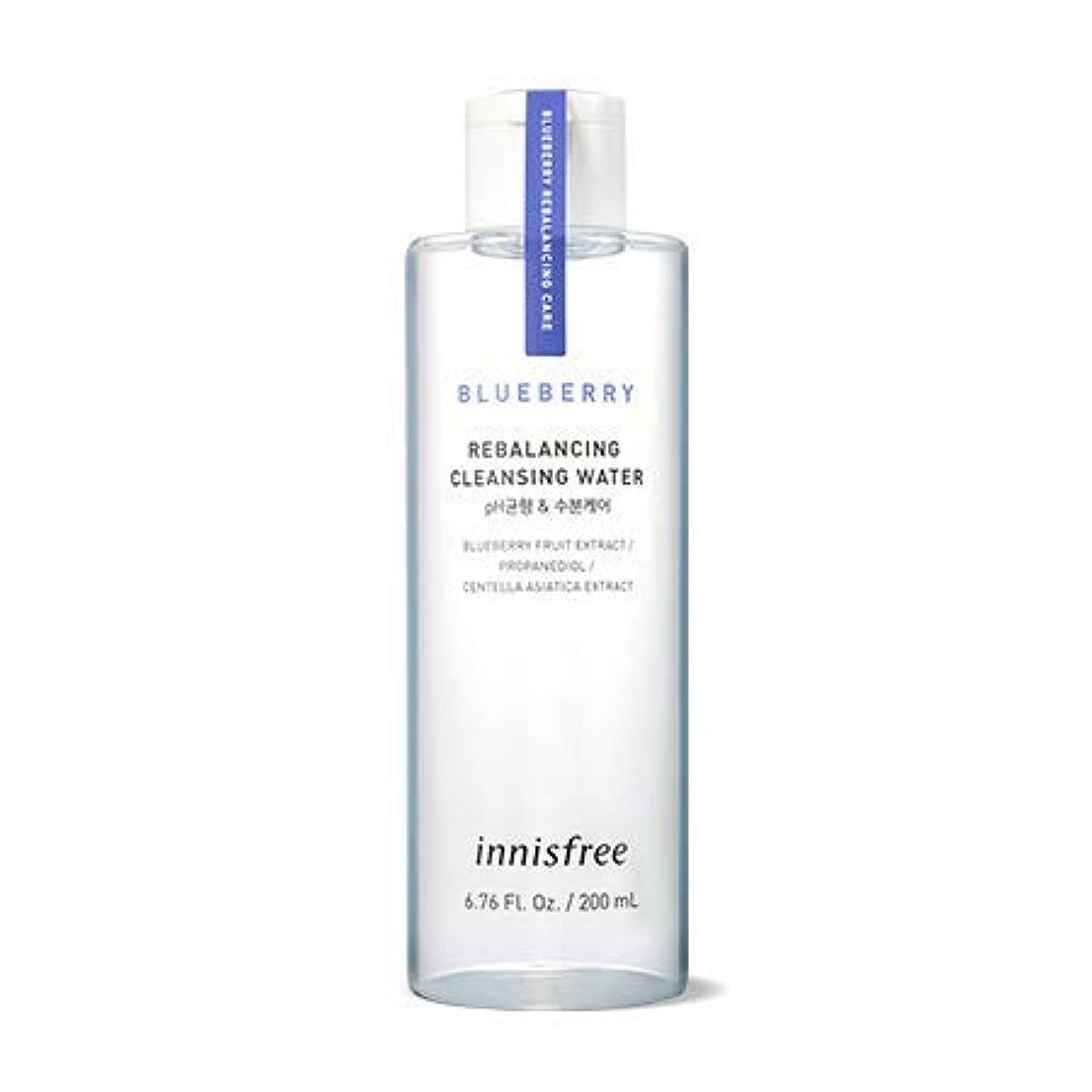 メナジェリーおめでとう打たれたトラック[イニスフリー.innisfree]ブルーベリーリバランシングクレンジングウォーター200mL(2019新発売)/ Blueberry Rebalancing Cleansing Water