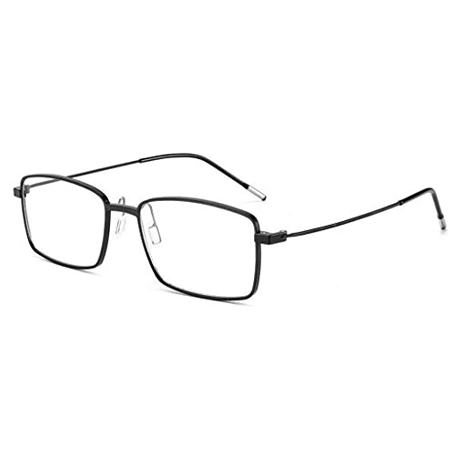 ぞっとするような増幅増幅インテリジェントズームHD老眼鏡、高精細、耐摩耗性、反射防止、清掃が容易、ユニセックス。 [グラデーションカラー]アンチブルーライト