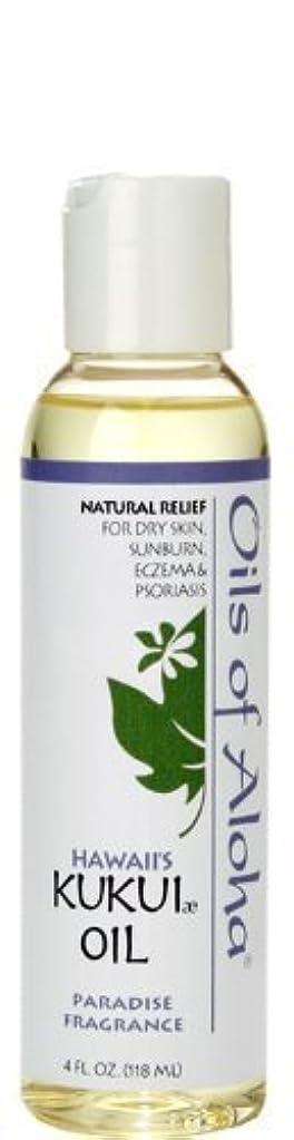 スロー過言事件、出来事オイルズ オブ アロハ(Oils Of Aloha) Kukui Skin Oil Paradise Fragrance 4oz 118ml