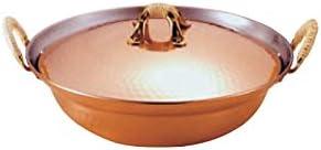 銅槌目入れよせ鍋 30cm 日本製
