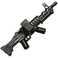 カスタムブロック パーツ ライトマシンガン M60:[Black / ブラック]