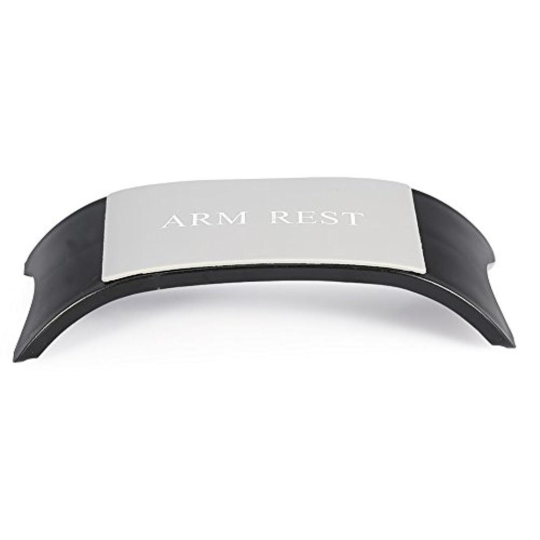 ロバ土器ガジュマル4色手枕アームクッションレストホルダーマニキュアアクセサリーネイルアートツール機器(黑色)