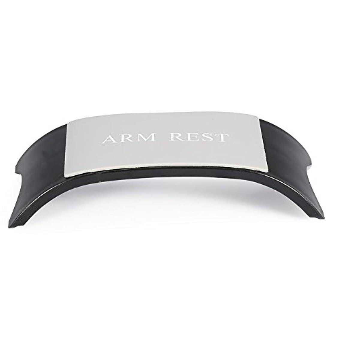 状態チャームカメ4色手枕アームクッションレストホルダーマニキュアアクセサリーネイルアートツール機器(黑色)