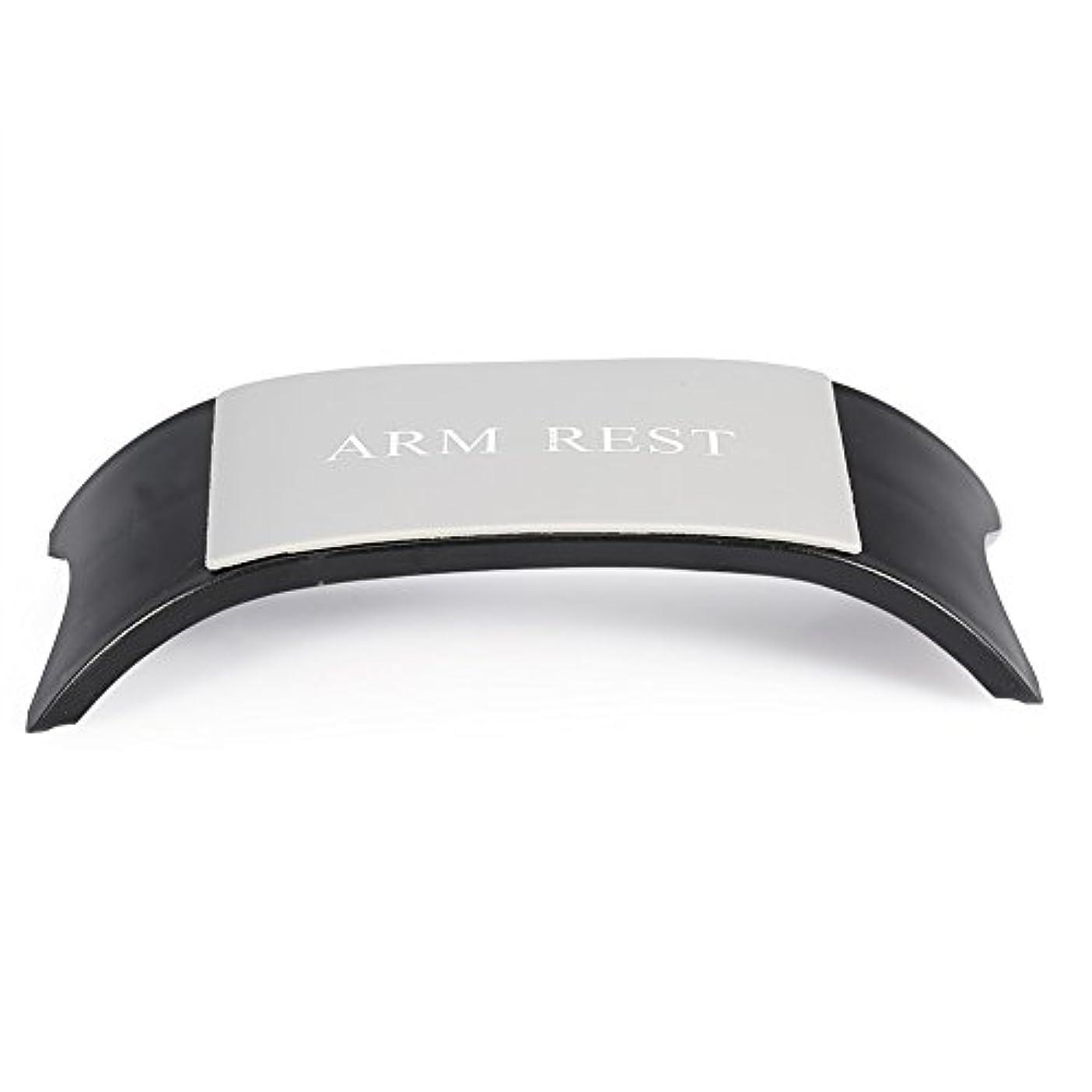 エアコン増幅是正4色手枕アームクッションレストホルダーマニキュアアクセサリーネイルアートツール機器(黑色)