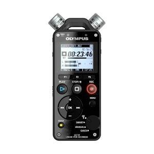 OLYMPUS リニアPCMレコーダー 4GB 自動録音レベル調整機能 3マイクシステム搭載 LS-14