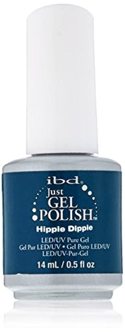 毛皮シーサイド製造業IBD Just Gel Polish - Hippie Dippie - 0.5oz / 14ml