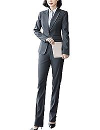 レディーススーツ パンツ+ジャケット ビジネス フォーマル ストレッチ リクルート 通勤 就活 卒業式 入会式 面接 大きいサイズ