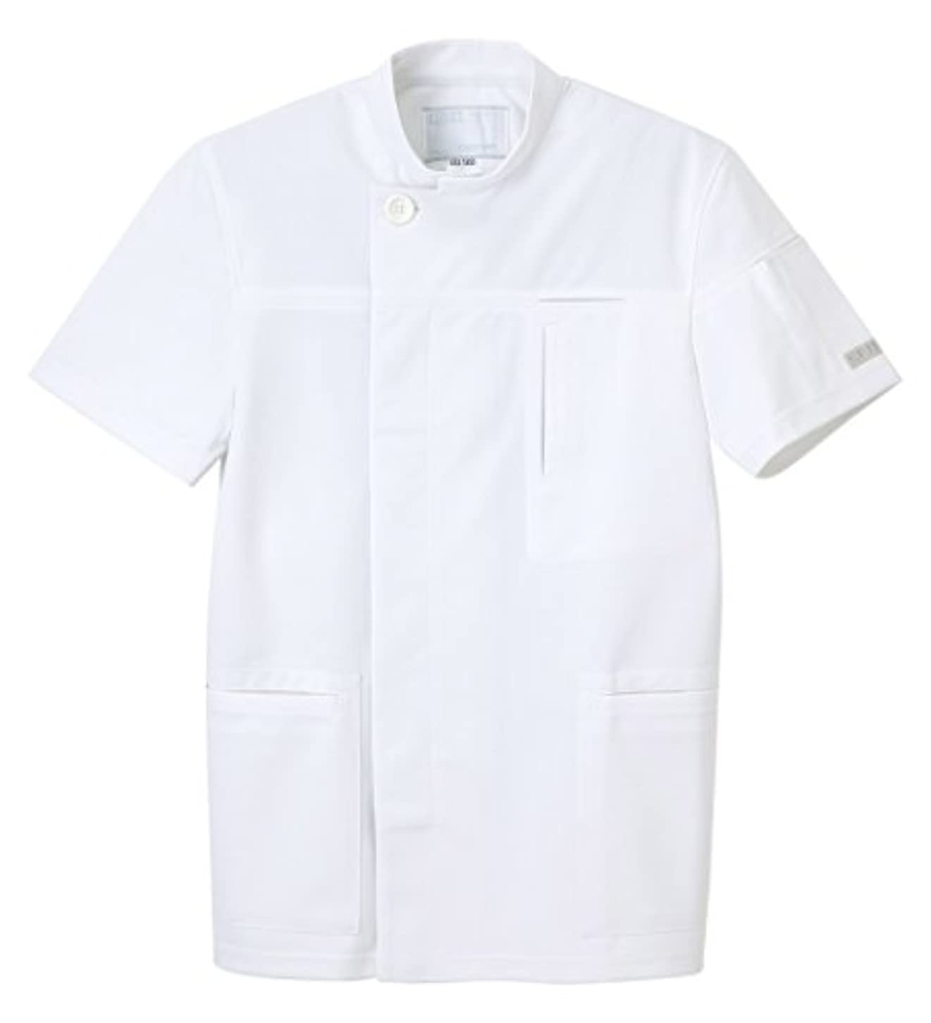 どっちでも流す相関するナガイレーベン NAGAILEBEN アツロウタヤマメンズジャケット ATA-1855(L)ホワイト