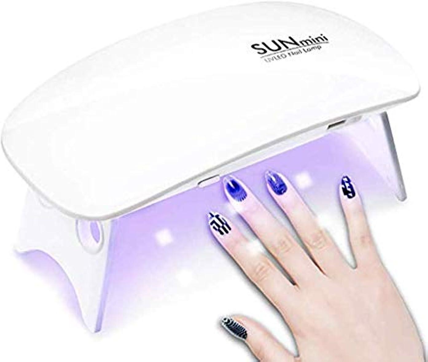 休日に見通しオークHomewineasy LEDネイルドライヤー UVライト 折りたたみ式 設定可能 タイマー ジェルネイル LED 硬化ライト UV と LEDダブルライト ジェルネイル用