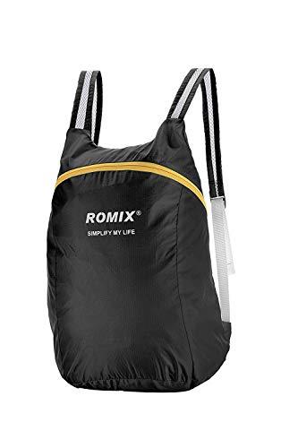 ROMIX リュック バックパック 大容量 折り畳みリュック ショッピングバ...