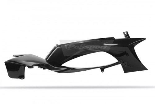 Polisportラジエータースクープwithタンクカバーfor Yamaha yz450F レッド 8411200002
