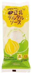 オーサワの豆乳タルタルソース 100g×2本                   EAN: 4932828067735