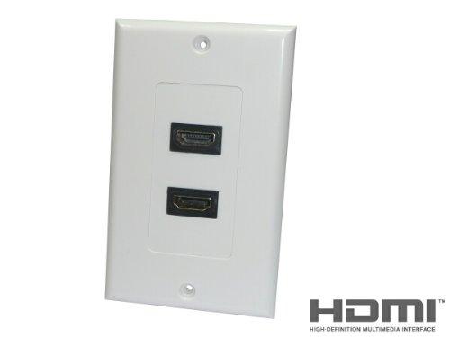 ATS direct HDMI A타입 메스 중계 케이블 2 혈wall 플레이트 세트[0107B]-0107B