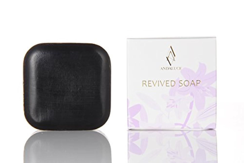フェンス先にランドマークリバイブドソープ~REVIVED SOAP~(至高のAHAフルーツ酸SOAP)100g
