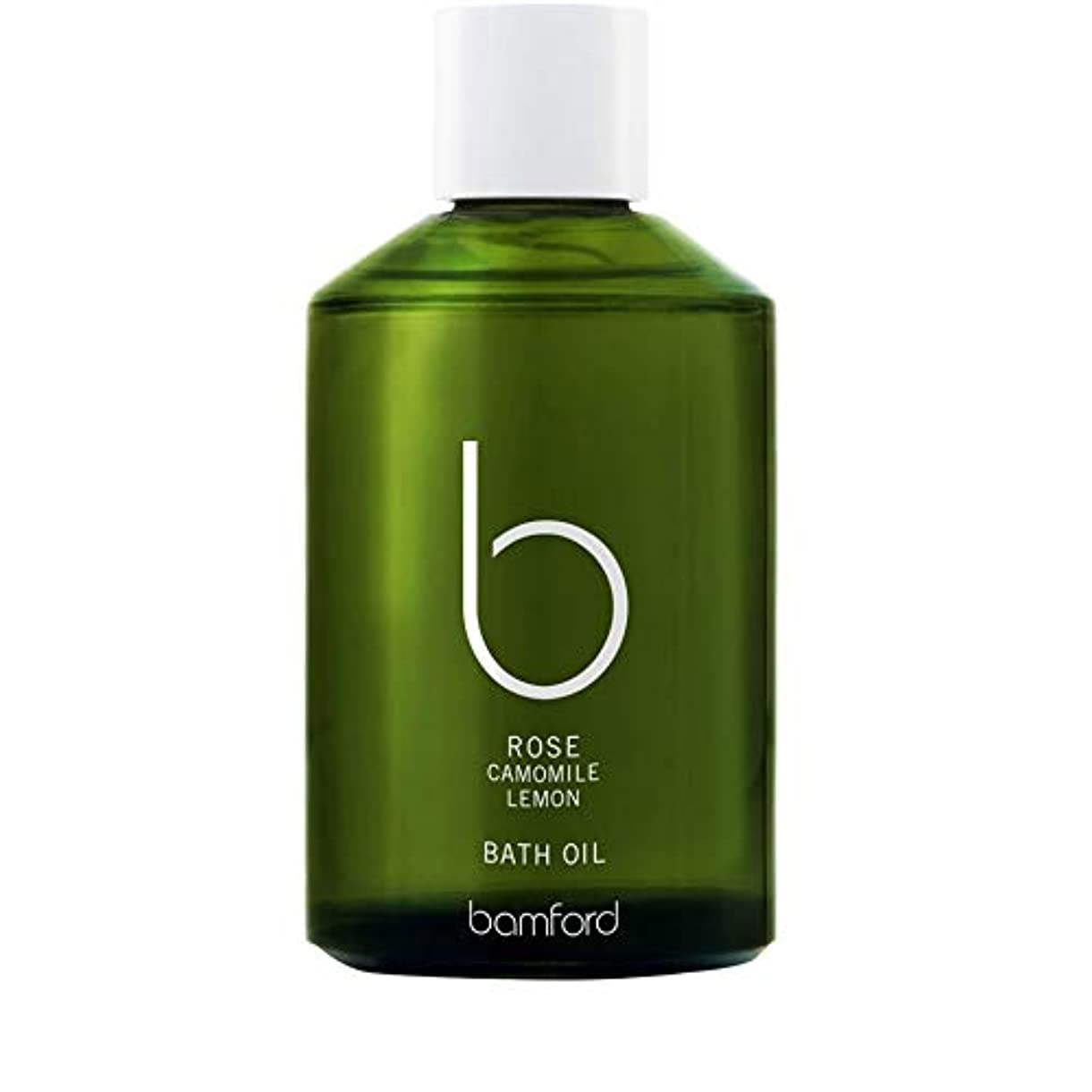 間違いなくスマート冬[Bamford ] バンフォードは、バスオイル250ミリリットルをバラ - Bamford Rose Bath Oil 250ml [並行輸入品]