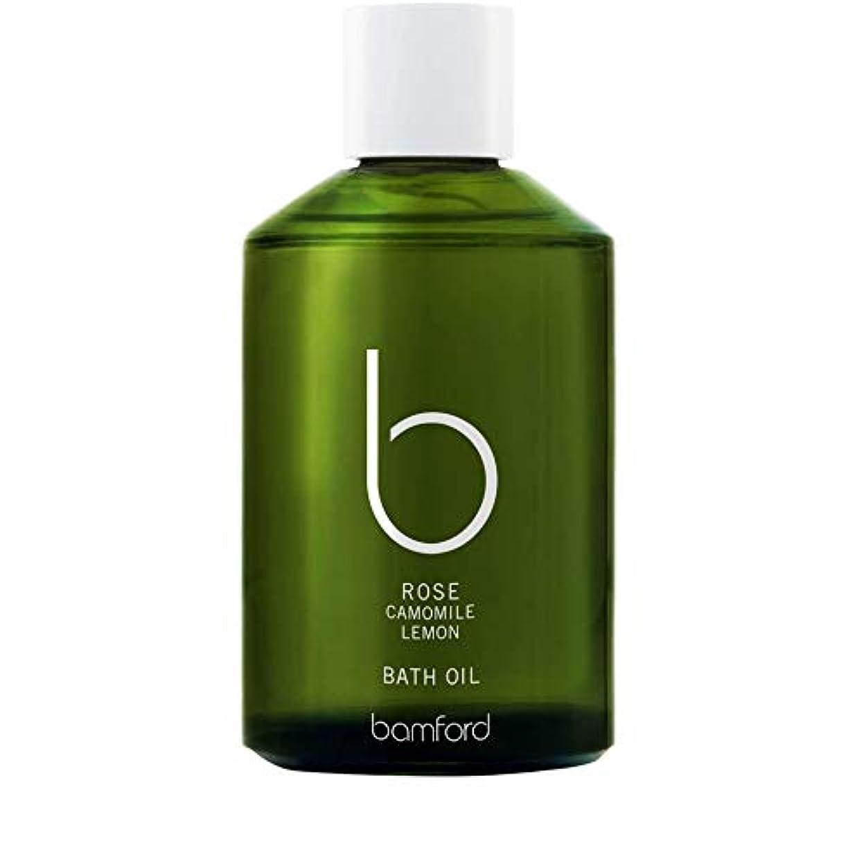 イブニング飾り羽厚さ[Bamford ] バンフォードは、バスオイル250ミリリットルをバラ - Bamford Rose Bath Oil 250ml [並行輸入品]
