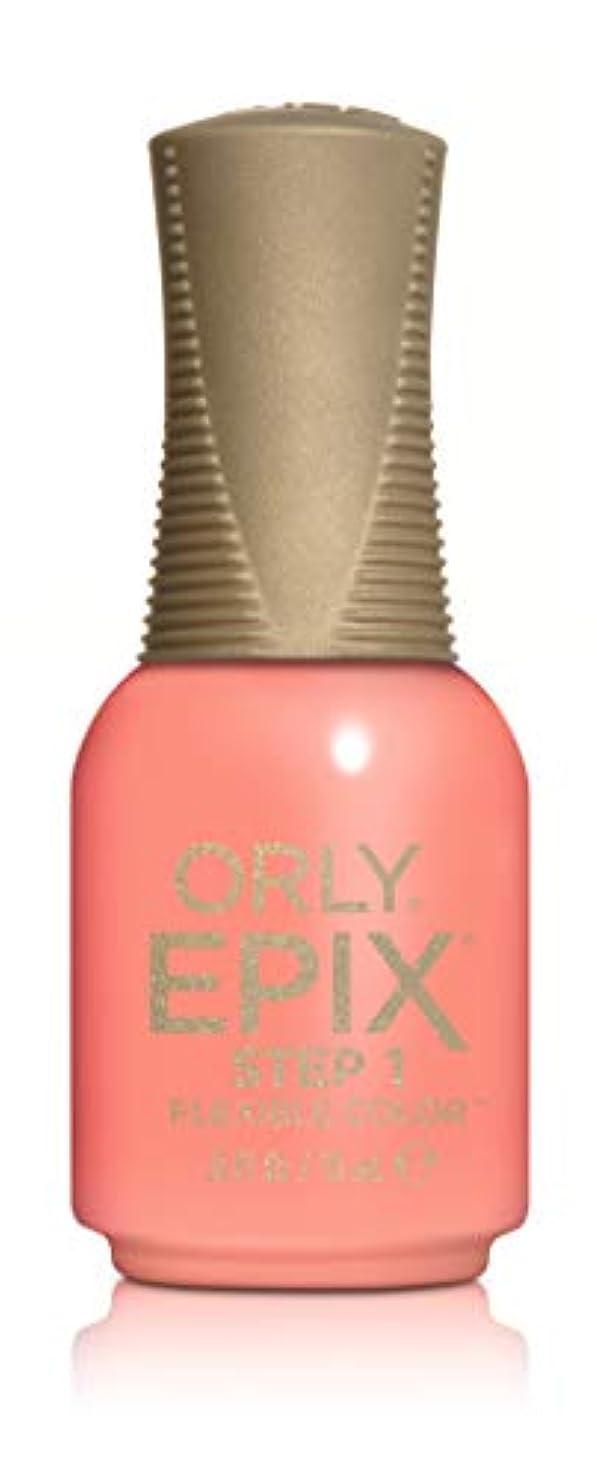 熱狂的なラバ収束Orly Epix Flexible Color Lacquer - Call My Agent - 0.6oz/18ml