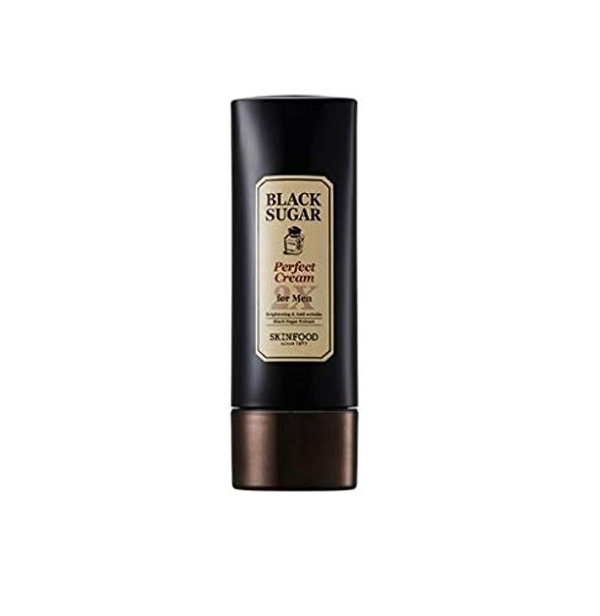 電気的ディスコ更新Skinfood 男性用ブラックシュガーパーフェクトクリーム2X / Black Sugar Perfect Cream 2X for Men 78ml [並行輸入品]