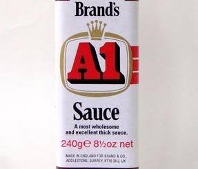 A1ソース 240g/瓶【エーワンソース、ブランズ】瓶【肉料理最適】イギリス産