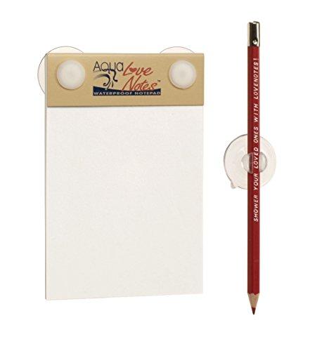 AquaNotes Waterproof Notepad - Aqua Love Notes - AquaNotes耐水メモ帳アクアラブノート [日本正規代理店] AquaNotes