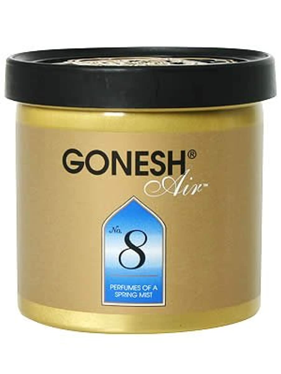 膨らませる風邪をひくドックGONESH ゲルエアフレッシュナー No.8(スプリングミスト)