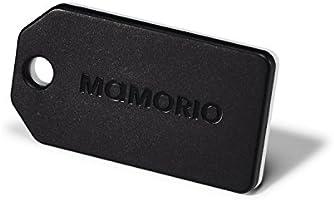 MAMORIO BLACK (マモリオ ブラック) 世界最小級の落し物防止タグ 重量3g