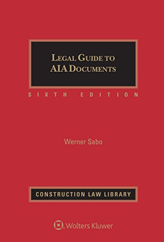 Download Legal Guide to Aia Documents 1454884118