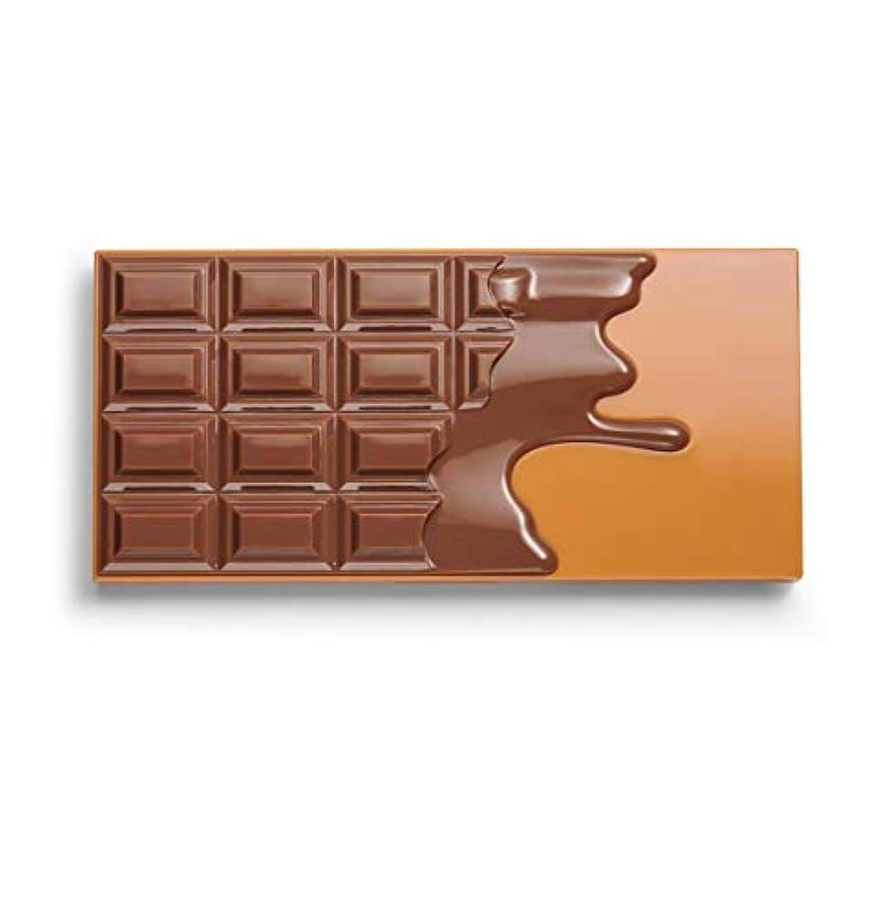 人種精査スタッフメイクアップレボリューション アイラブメイクアップ チョコレート型18色アイシャドウパレット #Peanut Butter Cup