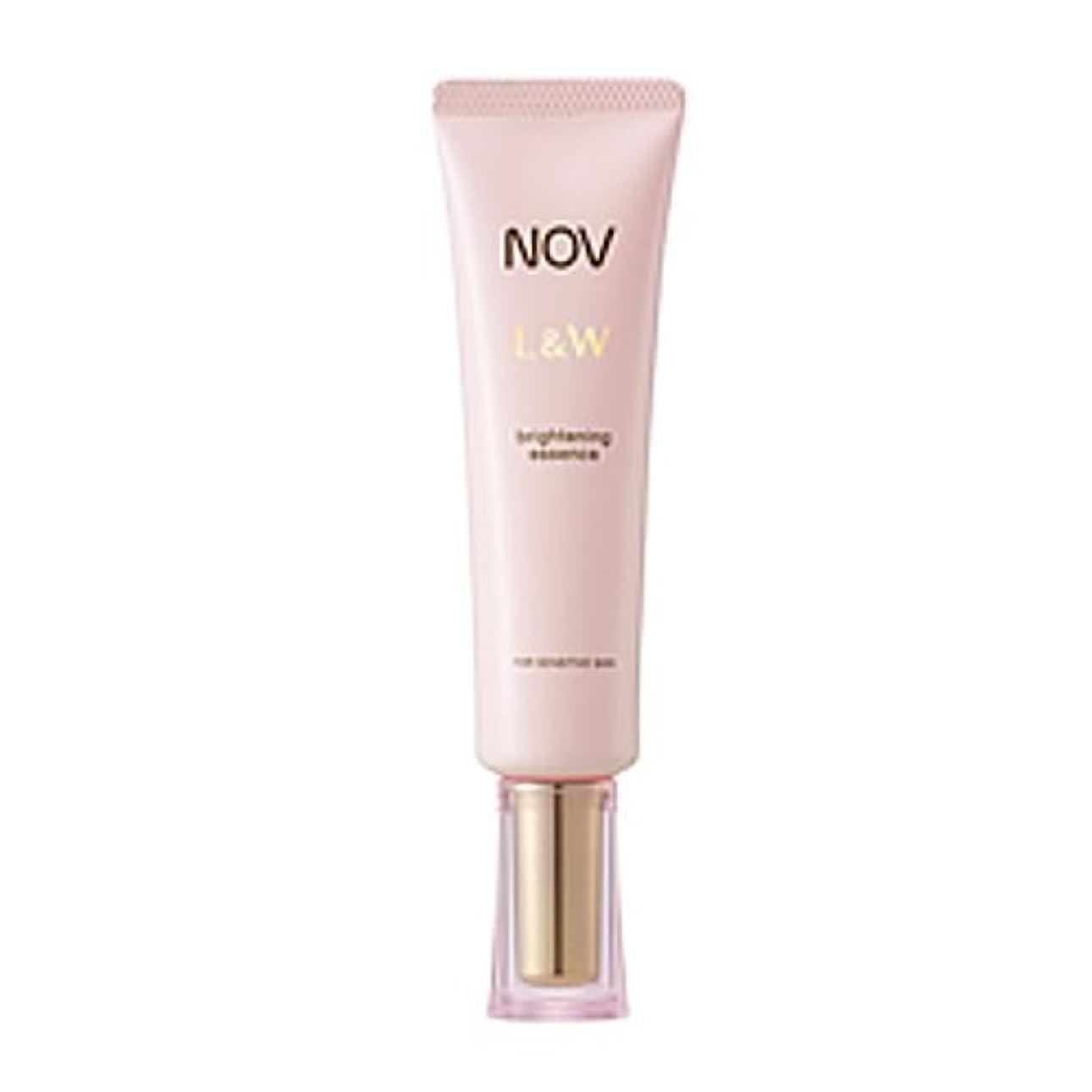 エーカー興奮延期するNOV L&W  ブライトニングエッセンス(医薬部外品)<30g>