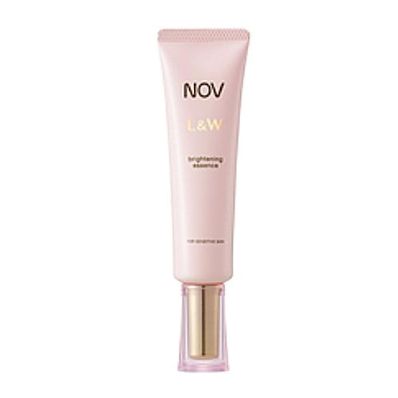 不安定な瞑想的出費NOV L&W  ブライトニングエッセンス(医薬部外品)<30g>