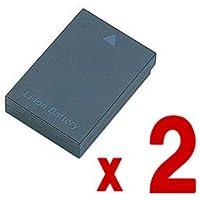 【バッテリー 2個セット】 Panasonic DMW-BCC12 互換 バッテリー LUMIX DMC-FX150 DMC-FX100 DMC-FX50 DMC-LX3 DMC-LX2 等 対応