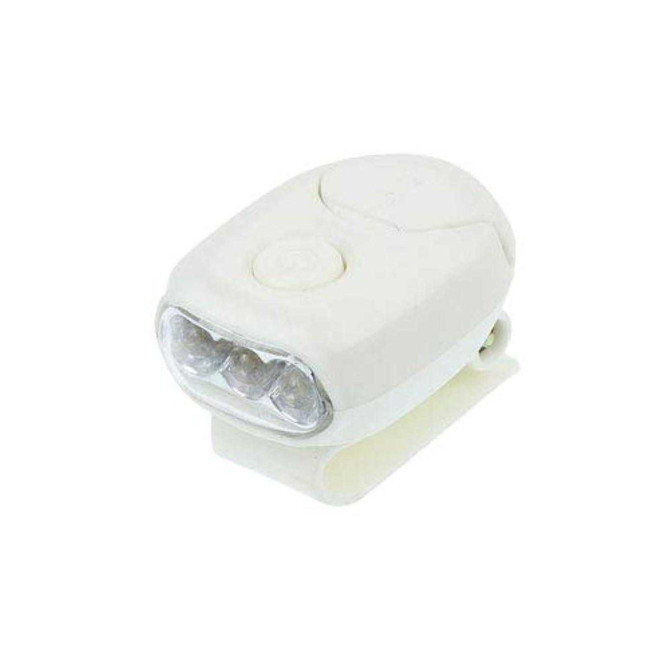 頑張るつぶす多くの危険がある状況MINIクリップライト 3LED ホワイト 電池式