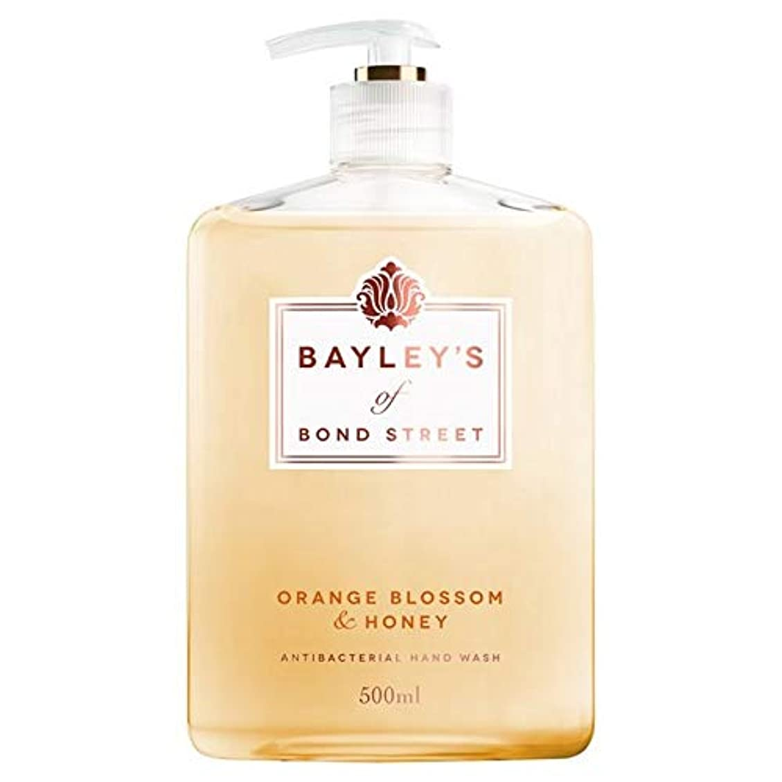引っ張るセーターできる[Bayley's of Bond Street ] ベイリーのボンドストリートオレンジブロッサム&ハニーハンドウォッシュ500ミリリットルの - Bayley's of Bond Street Orange Blossom...