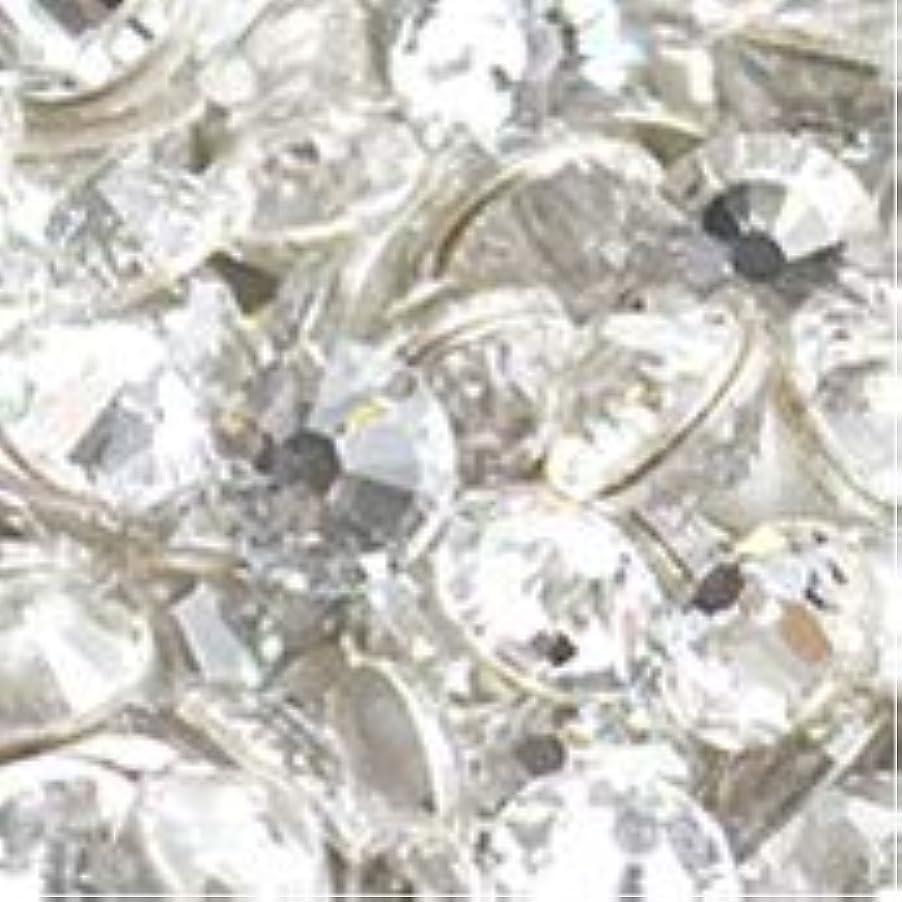 相対サイズ蘇生する石化するスワロフスキー ラインストーン【ss16】【クリスタル】 [並行輸入品]