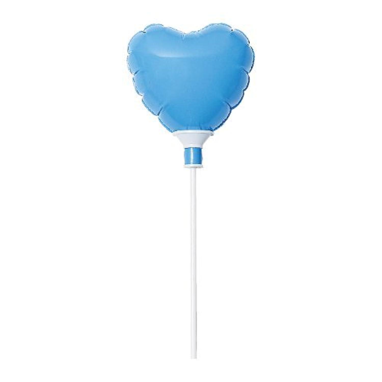 IPバルーンプチハート 色:ライトブルー (エアー入り?スティック付)全長30㎝(ハート部分高さ5㎝)
